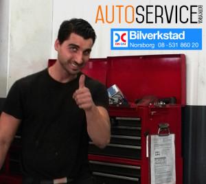 Bernard + Auto Service + OKQ8 bilverkstad